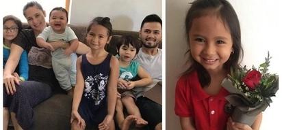 Artistahin din kagaya ng parents niya! Kristine Hermosa and Oyo Boy Sotto's one and only daughter