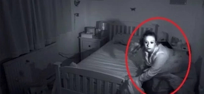 Girl suffers from sleepwalk and hallucination for years. Watch this strange video captured!