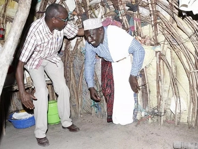 Photos of DP Ruto in Garissa that have left Kenyans laughing at him