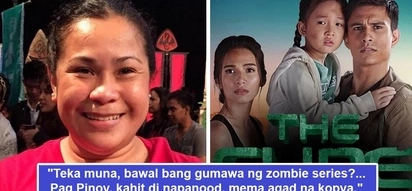 Nagtaray si Ate! Suzette Doctolero todo explain kung bakit hindi raw kinopya ang 'The Cure' sa 'The Walking Dead'