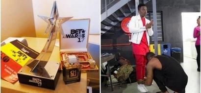 'Mwanafunzi' wa msanii Diamond Platinumz ashinda tuza la kipekee ulimwenguni (picha)
