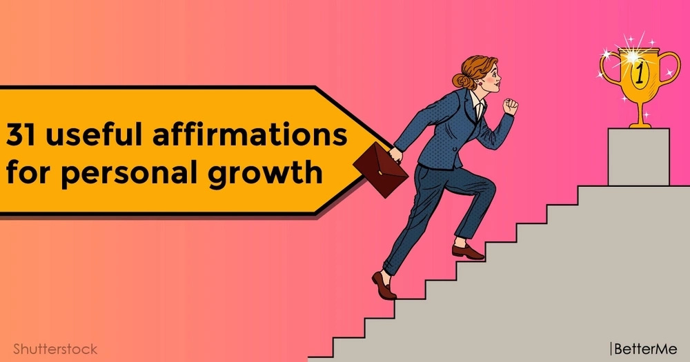 31 useful affirmations for personal growth