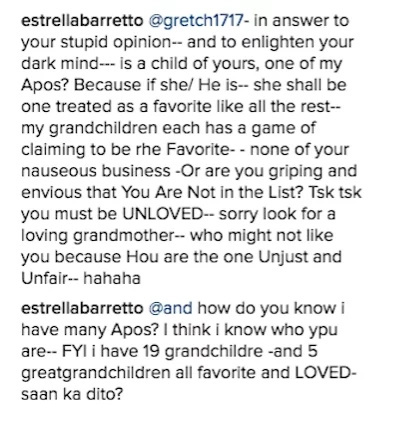 """Claudine Barretto claps back at rude commenters: """"Leave our family alone!"""""""