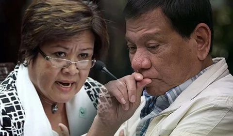 De Lima to Duterte: I will not stay silent if you step on rights