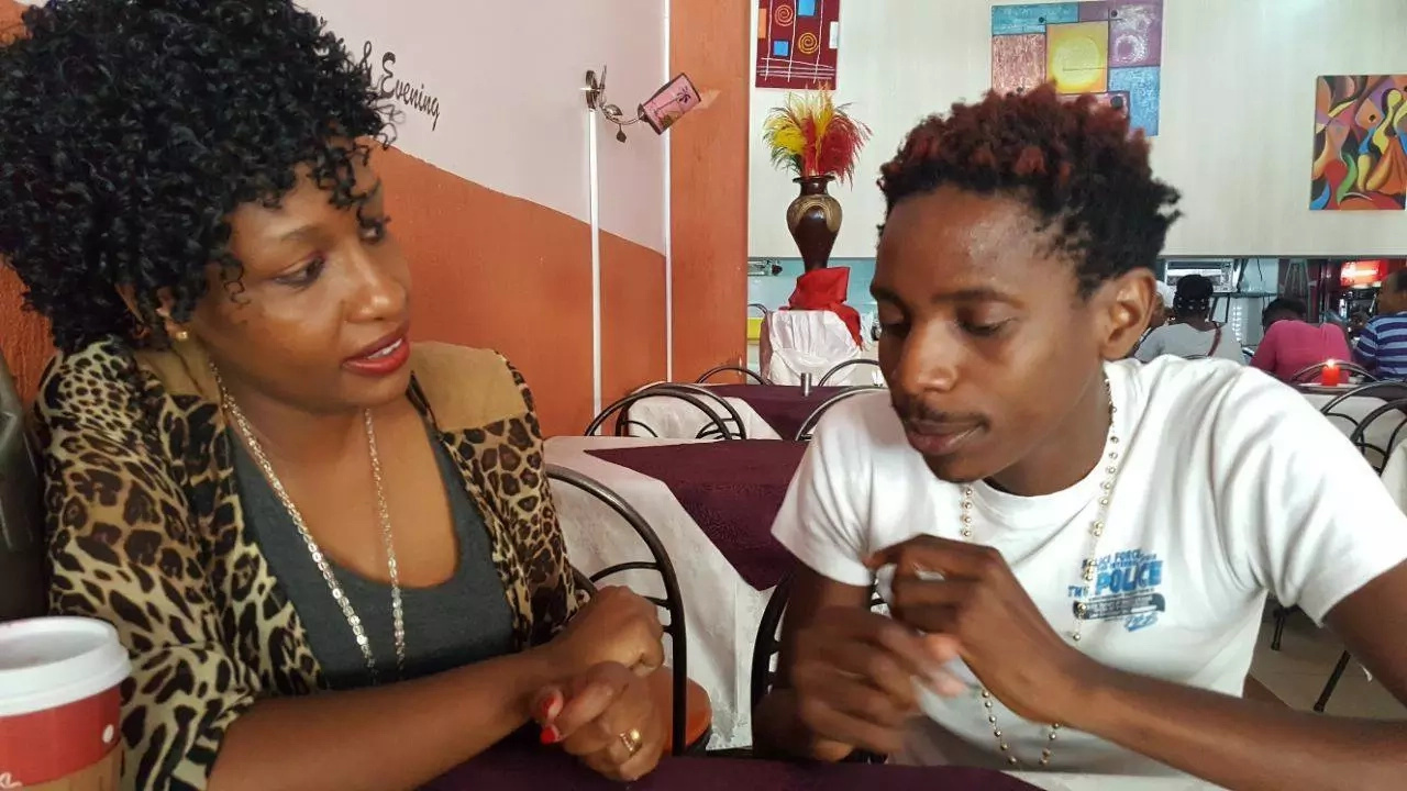 Eric Omondi has got a very good lesson on what to never post - Comedienne Wanjiku the teacher