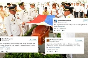 Hinding hindi malilimutan! Devastated netizens express disgust over hero burial of Marcos