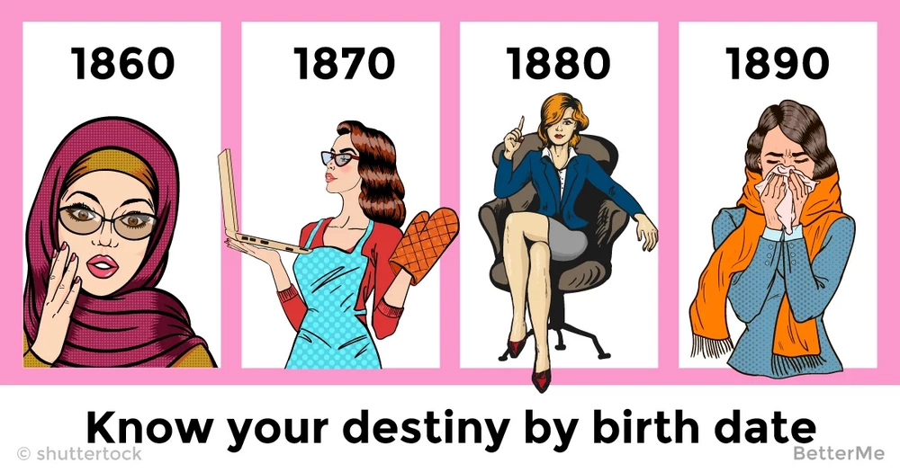 The year you were born can reveal your destiny