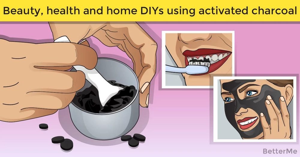 Beauty, health and home DIYs using activated charcoal