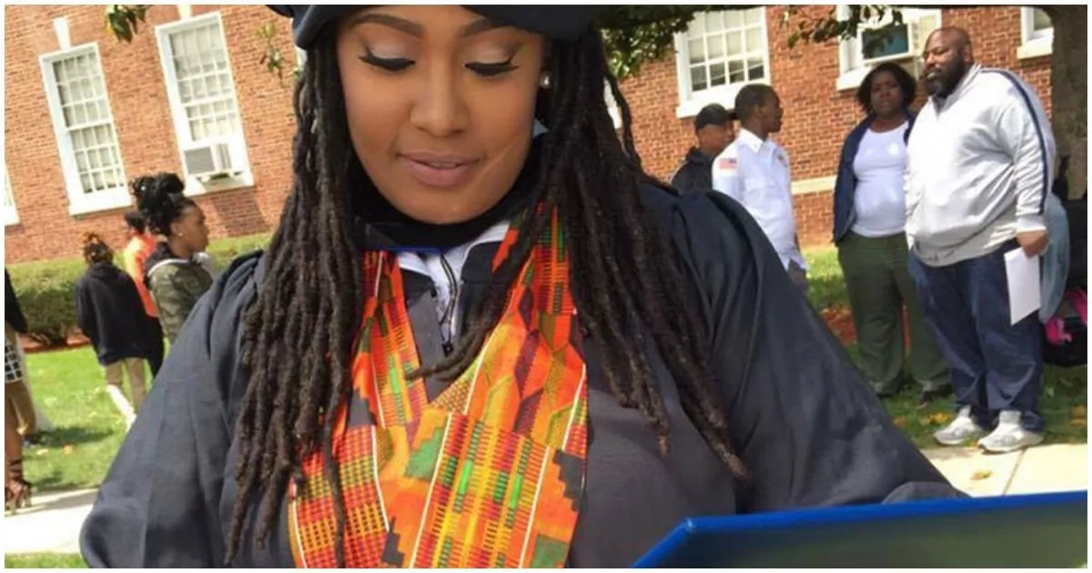 This woman graduates from college despite growing up in foster care