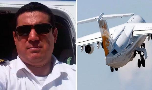 Desconcertante mensaje de Facebook publicado por el piloto antes de subir al avión de la tragedia