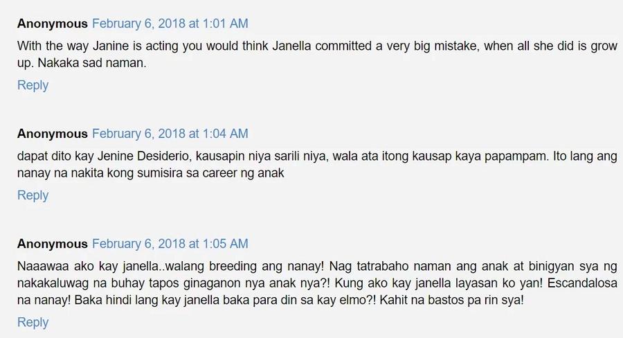 Bruha daw na nanay! Netizens express their dismay over Jenine Desiderio's attitude on social media