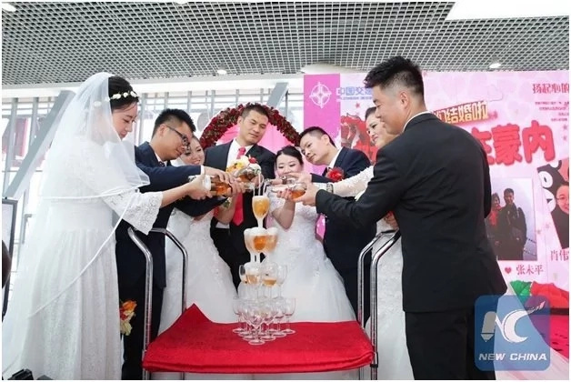 See the strange but astonishing Chinese wedding that Nairobians are still talking about (photos)