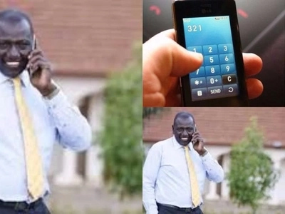 DP Ruto's MYSTERIOUS phone call gets Kenyans talking