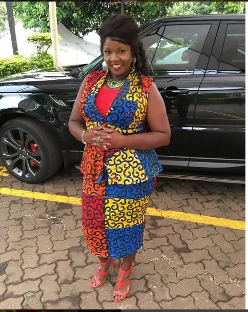 Photo: Reverend Kathy Kiuna's expensive fuel guzzler