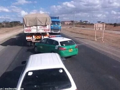 5 times NTSA vehicles have been caught breaking the very traffic rules they enforce