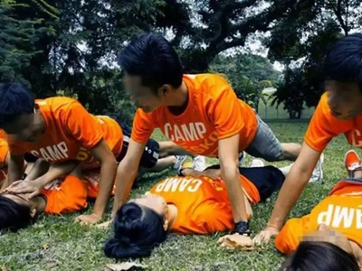 LOOK! School camp forces female students to re-enact incestuous rape scene!