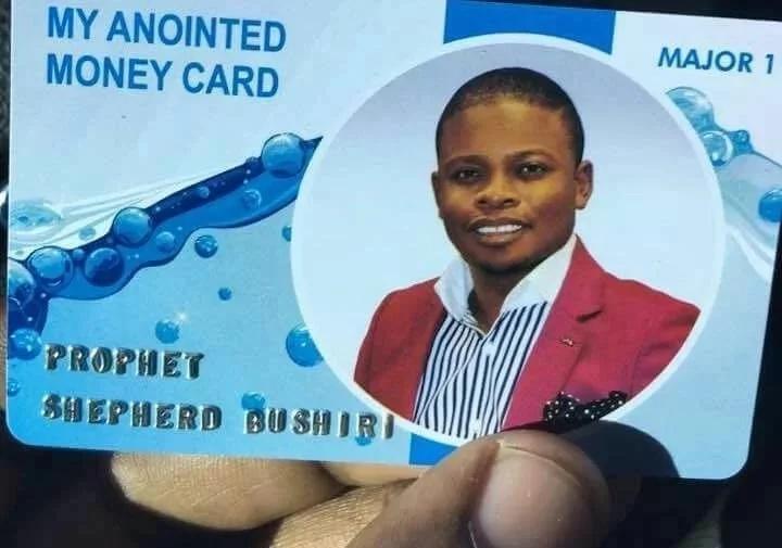 Mchungaji mbishi atoa ATM kwa wafuasi wake za kutumia kulipia zaka