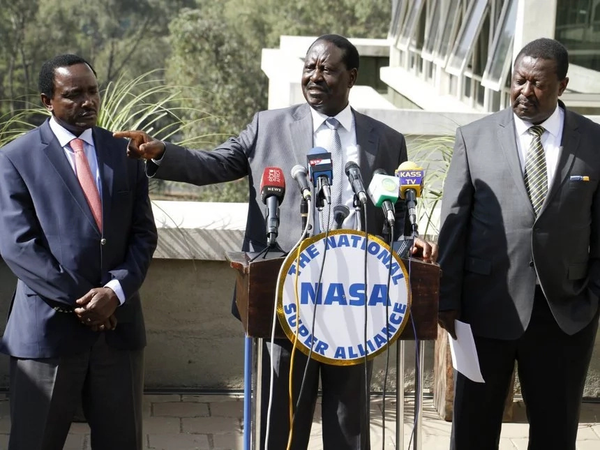 Kenyan opposition leader Raila Odinga wants new vote