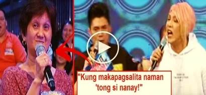 Watch Vice Ganda get mad at an elderly audience member for bragging about the expensive chocolates she ate. This video is extremely hilarious!
