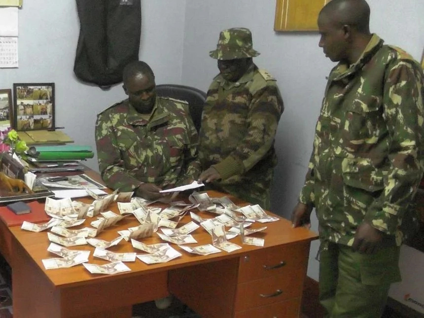 Woman arrested with KSh 58,000 in her underwear