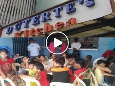 Duterte's Kitchen now open to fill hungry stomachs in Cubao