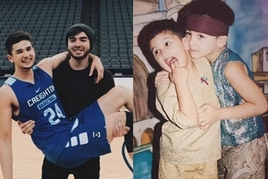 7 Photos of Andre and Kobe Paras that will give you serious Sibling Goals