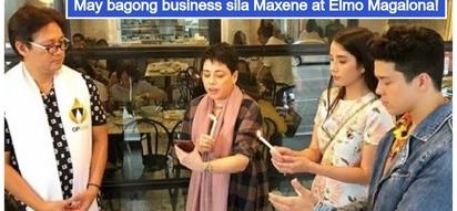 Lalong yumayaman! Maxene Magalona & Elmo Magalona open new restaurant in Quezon City