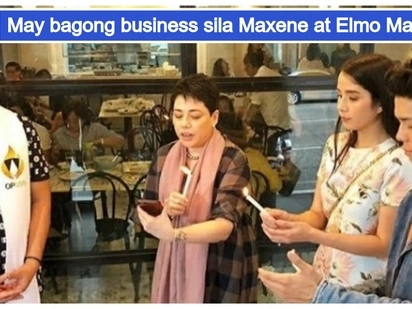 Lalong yumayaman! Maxene Magalona & Elmo Magalona open new restaurant in Quezon City