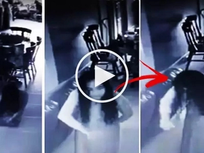 This house maid was allegedly possessed by a demonic spirit! Watch the terrifying CCTV footage shared by her scared employer!