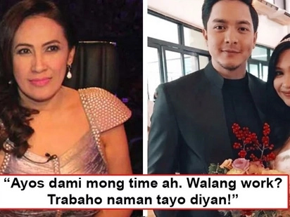 Ai-Ai's daughter gets bashed because of Alden Richards, tiger mom comes to the rescue, 'Walang work? Trabaho naman tayo diyan!'