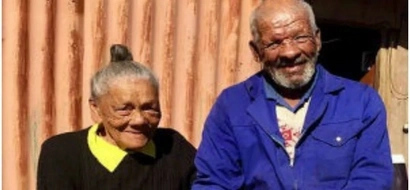 Elderly couple receives government housing after living in metal shack for 50 YEARS (photo)