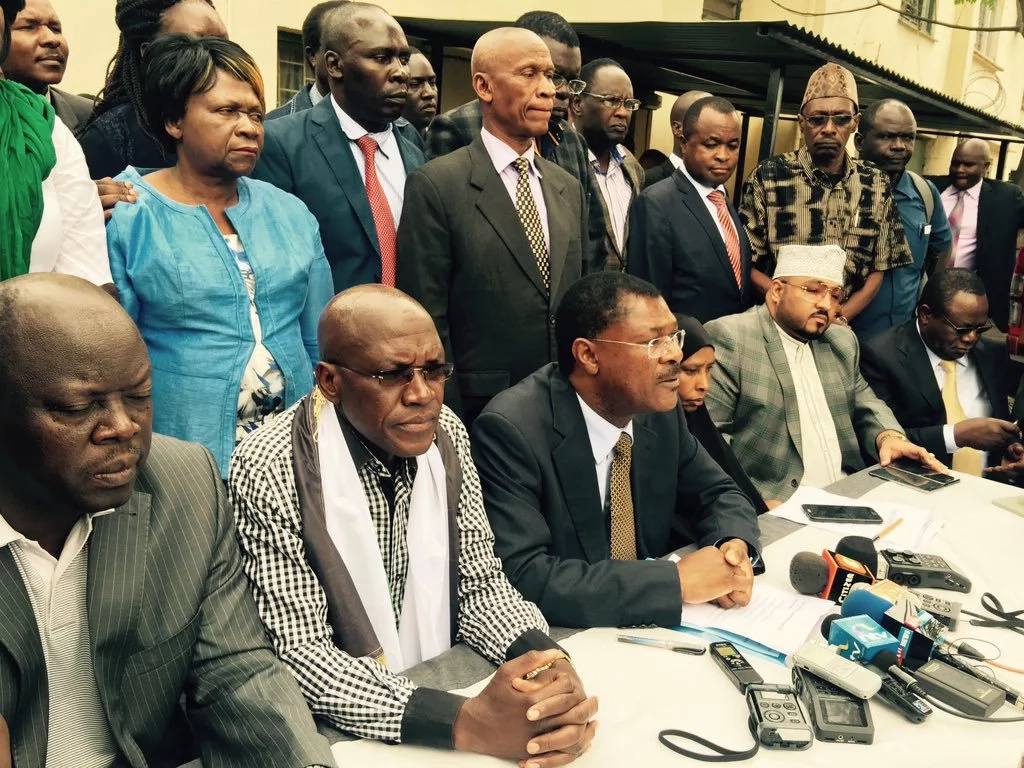Wetangula replaces leaders who defected to Jubilee