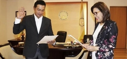 It's official: Cesar Montano has been sworn in as the new COO for Tourism Promotions