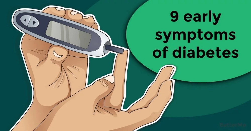 9 early symptoms of diabetes