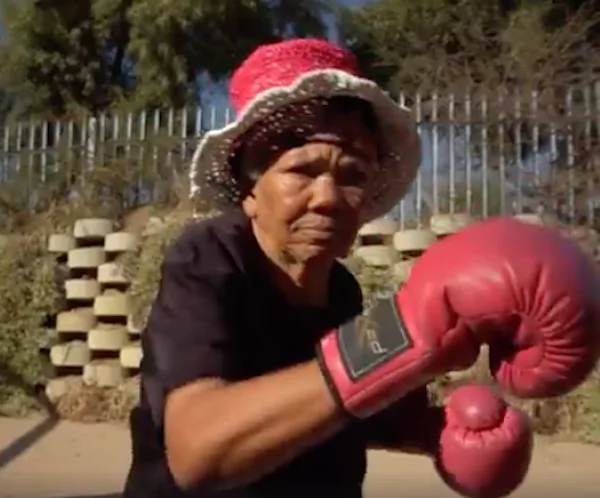 The women say training helps them maintain their health. Photo: Facebook/BBC Africa