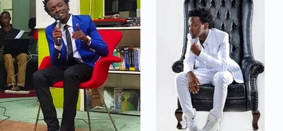 """Bahati badly trolled after posting a sweet """"Daddy-daughter"""" photo"""