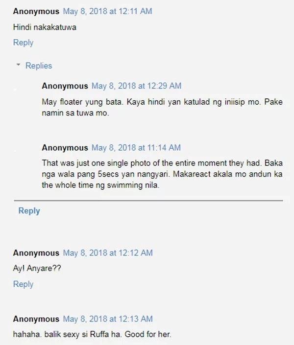 Rufa Mae Quinto binatikos nang husto dahil sa pinost na photo ng anak na nagsiswimming