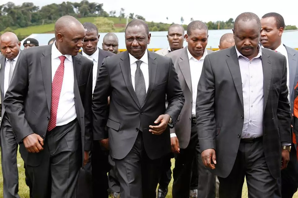 Isaac Ruto welcomes William Ruto to Bomet county