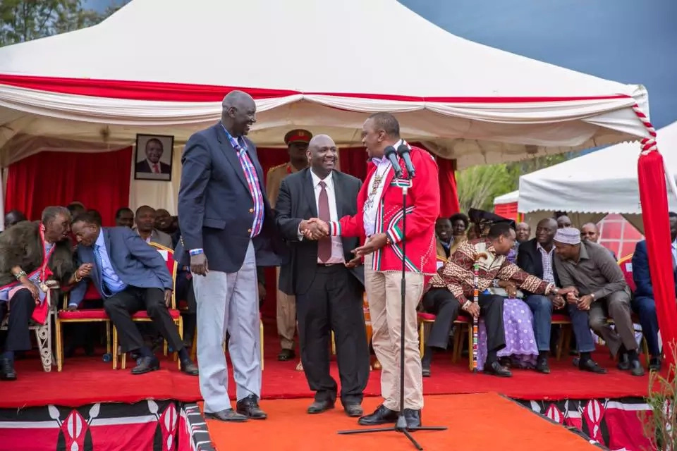 Raila admits salivating Uhuru Kenyatta presidential position