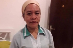 That must have been painful for her! Emotional Pinay seeks government help for OFW sister