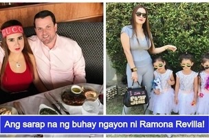 Do you still remember Ramona Revilla? The '90s daring star is now married to an American engineer & has triplets
