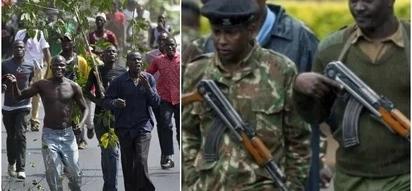 Mkutano wa NASA Uhuru Park wazuiwa na polisi waliojihami