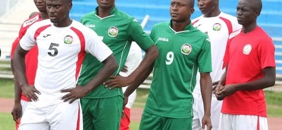 Wanyama Joins Stars Camp, See Them Train Ahead Of Cape Verde Clash