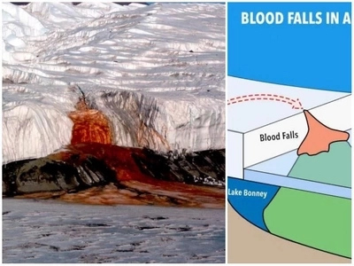 Scientists spent over century trying to explain mystery behind Antarctic's WATERFALL OF BLOOD (photos, video)