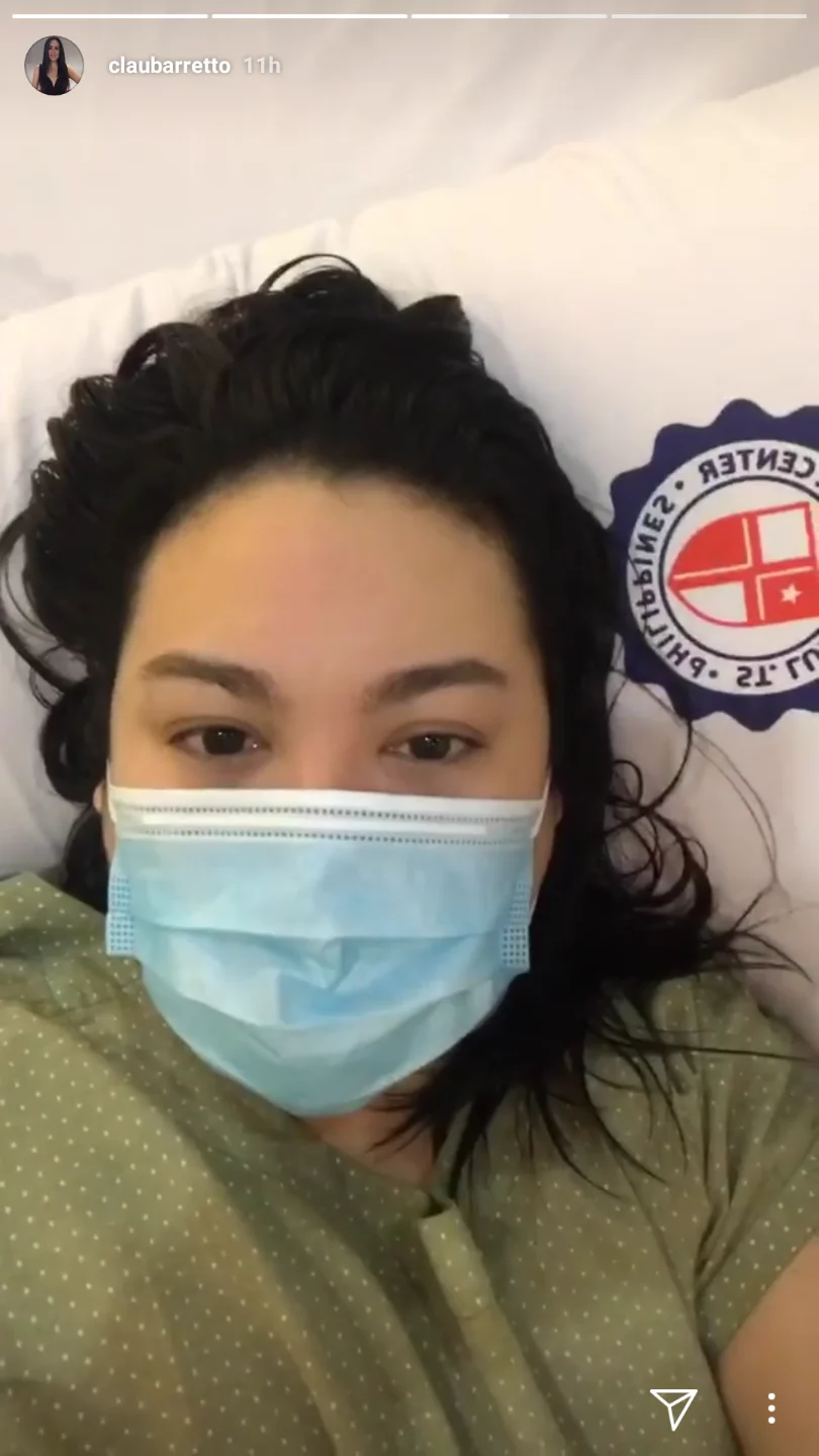 Ospital na naman? Claudine Barretto in hospital for operation
