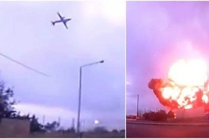 Another Plane Crash Kills All 5 French Passengers, Footage Was Captured On Dashcam