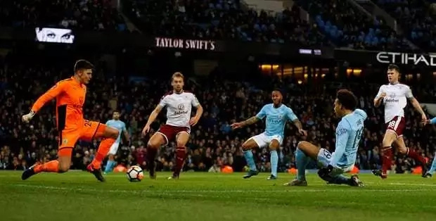 Sergio Aguero on fire as merciless Man City hammer Burnley to qualify for the next round of the FA Cup