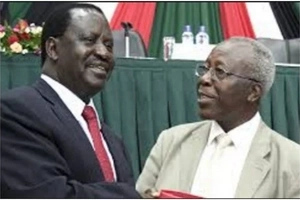 Jubilee leaders with a HARSH parting word to Sam Ongeri after joining Raila