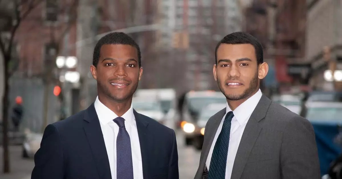 They left their jobs to build a career platform that finds jobs for minority groups. Photo: NBC News