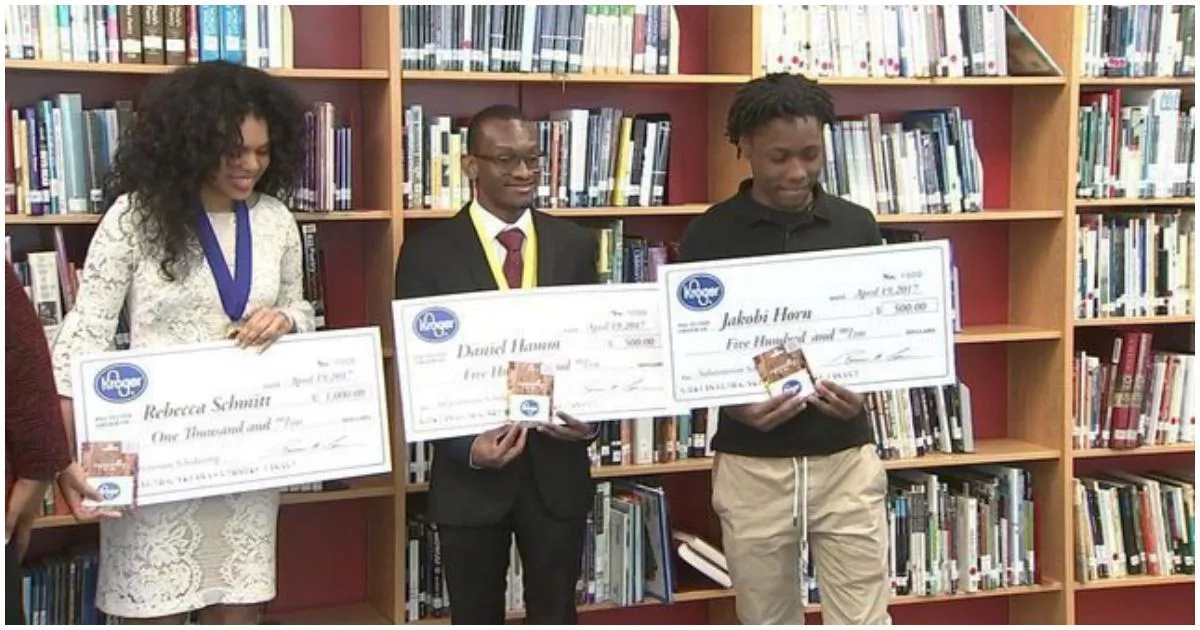 These 2 students who were once homeless get scholarships to college (photos, video)
